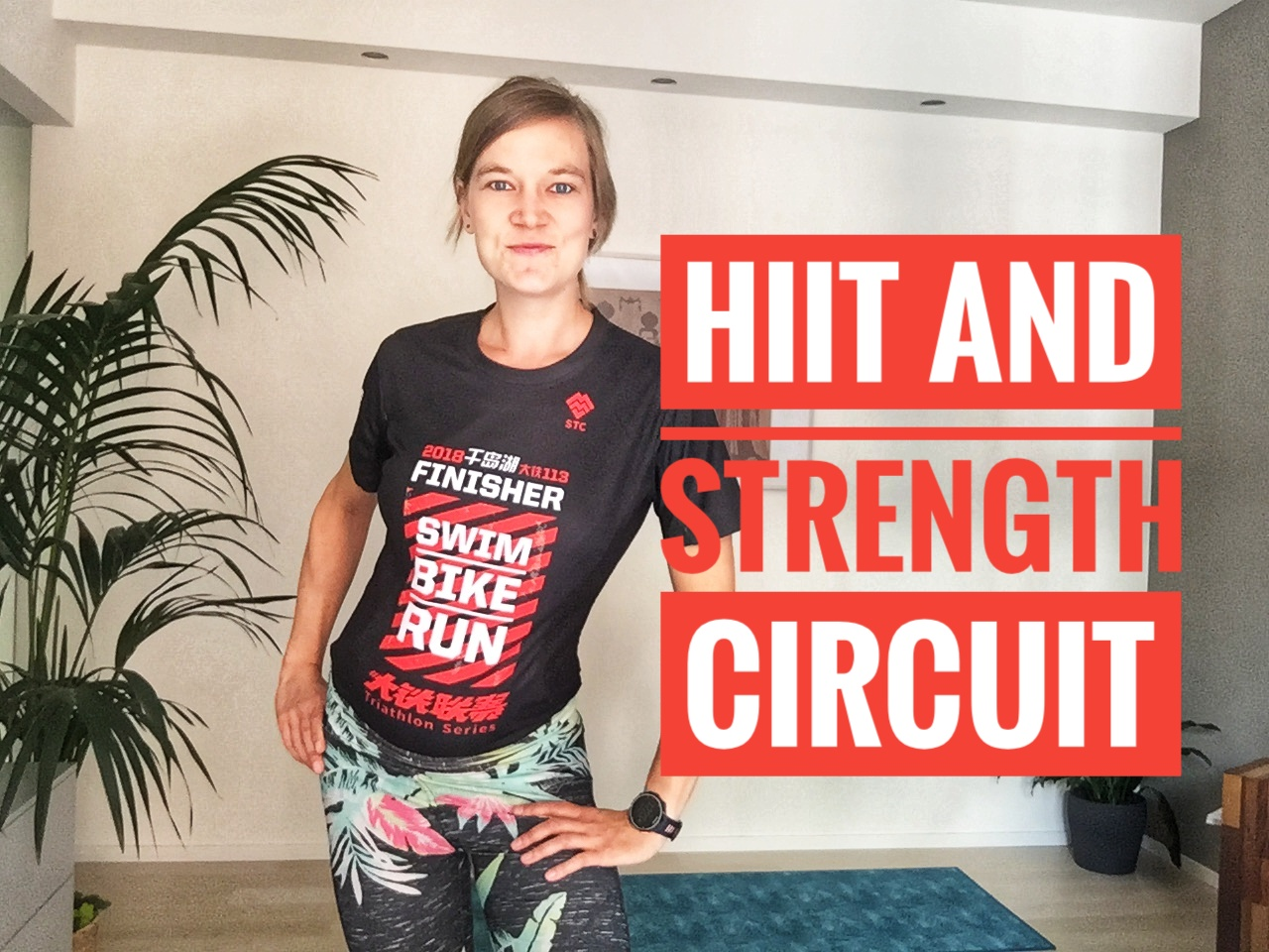 Strength for Endurance – HIIT and Strength Circuit (25min)