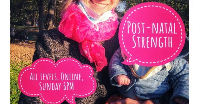 Finding Post-natal Strength – A Mental and Physical Challenge