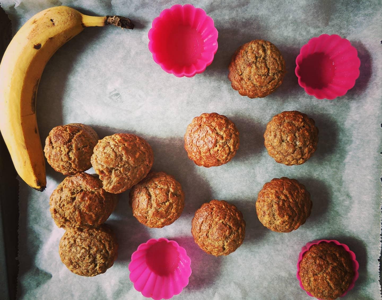 Homemade Baby Muffins with Banana and 0 Sugar